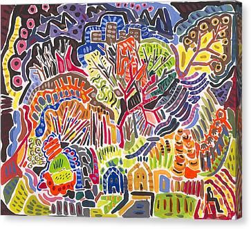 Field Canvas Print by Matt Gaudian