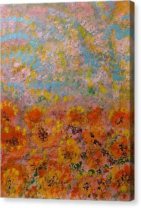 Field Of Color Canvas Print by Rich Mason