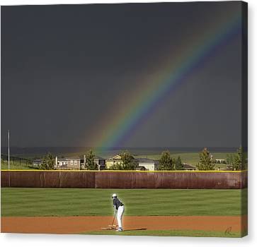 Field Of Dreams Canvas Print by Chris Thomas