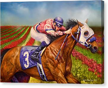 Field Of Dreams Canvas Print by Kari Nanstad