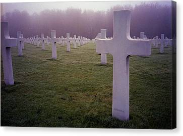 Field Of Sacrifice Canvas Print by Dennis Lundell