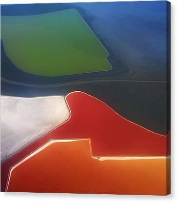 Fields Canvas Print by Alexander Fedin