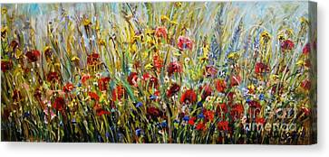 Fields Of Dreams Canvas Print