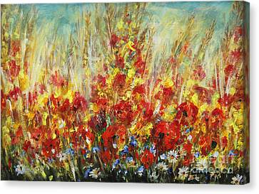 Fields Of Dreams II Canvas Print
