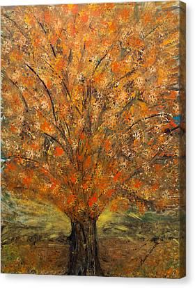 Fiery Autumn Canvas Print