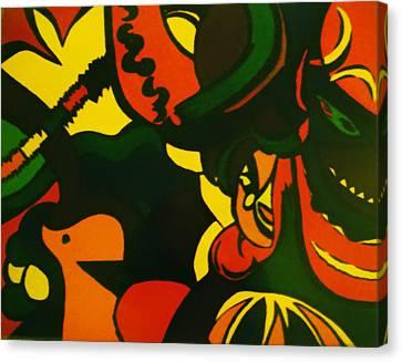 Fiesta Canvas Print by Cynthia Hilliard