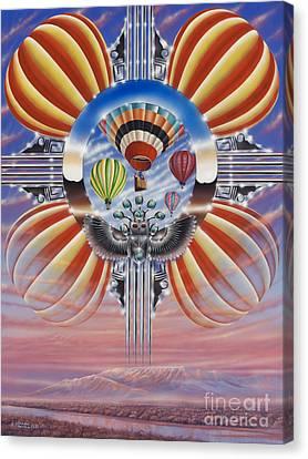 Fiesta De Colores Canvas Print
