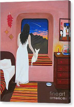 Fiesta's Room Canvas Print by Lori Ziemba