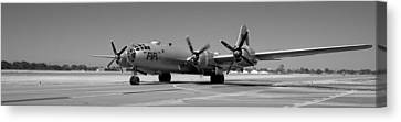 Fifi.  Enola Gay's B29 Superfortress Sister Visits Modesto Kmod. Canvas Print