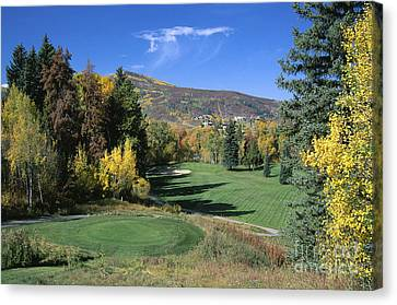 Fifth Hole Canvas Print