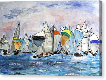Figawi Dash Canvas Print by Michael Helfen