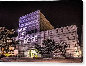 Figge Art Museum Canvas Print by Ray Congrove