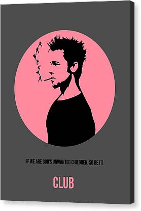 Fight Club Poster 1 Canvas Print