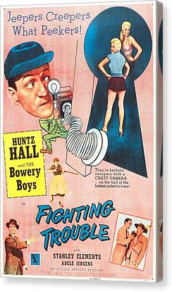 Fighting Trouble, Us Poster, Adele Canvas Print by Everett