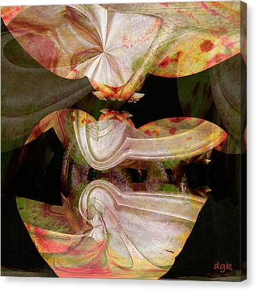 Figment Canvas Print - Figment No. 3 by Dolores Kaufman