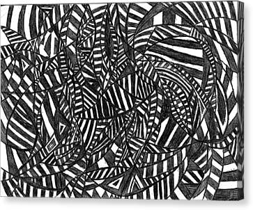 Figment Of The Imagination Canvas Print by Rowan Van Den Akker