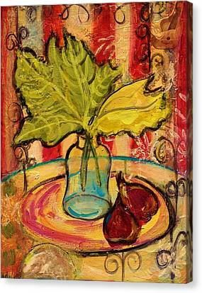 Figs 2 Canvas Print by Melinda Jones