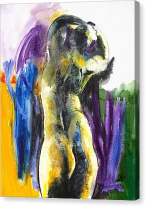 Figure Canvas Print by Brenda Clews