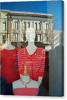 Figure In Window By Jan Marvin Canvas Print