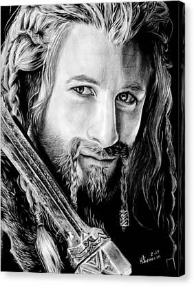 Fili The Dwarf Canvas Print by Kayleigh Semeniuk