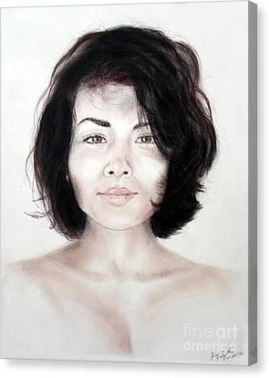 Filipina Canvas Print - Filipina Beauty II by Jim Fitzpatrick