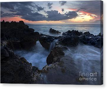 Filling The Cauldron Canvas Print