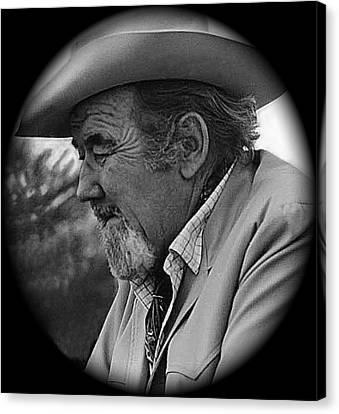 Film Noir Fritz Lang Broderick Crawford Glenn Ford Human Desire 1954 Tucson Arizona 1969 Canvas Print by David Lee Guss