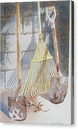 Final Curtain Canvas Print by Tony Caviston