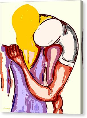 Final Embrace Canvas Print by Patrick J Murphy