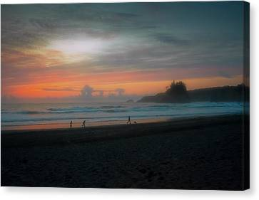 Final Light Canvas Print