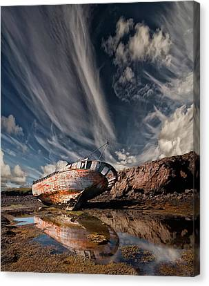 Abandoned Canvas Print - Final Place by ?orsteinn H. Ingibergsson