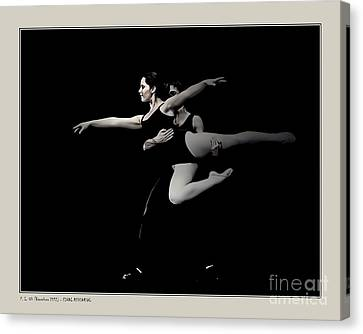Final Rehearsal Canvas Print by Pedro L Gili