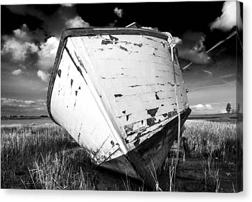 Canvas Print featuring the photograph Final Resting Place by Trevor Chriss