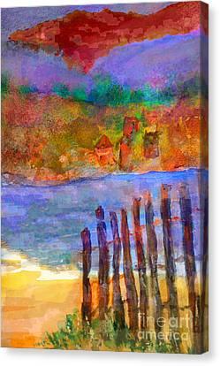 Finally Free Canvas Print by Deborah Montana