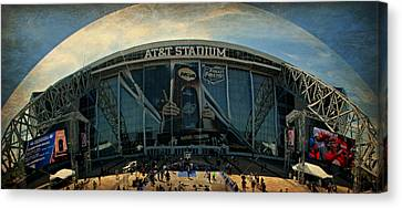 Kentucky Wildcats Canvas Print - Finals Madness 2014 At Att Stadium by Stephen Stookey
