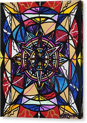 Sacred Canvas Print - Financial Freedom by Teal Eye  Print Store
