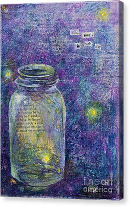 Find Magic Canvas Print by Melissa Sherbon