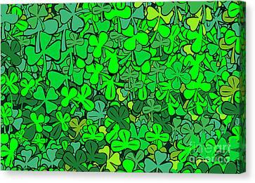 Find Quatrefoil Canvas Print by Michal Boubin
