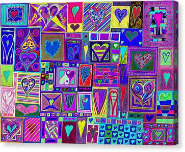 find U'r love found v4  Canvas Print by Kenneth James
