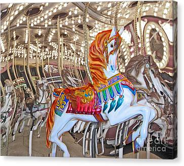 Find Your Ride Canvas Print by Cheryl Del Toro