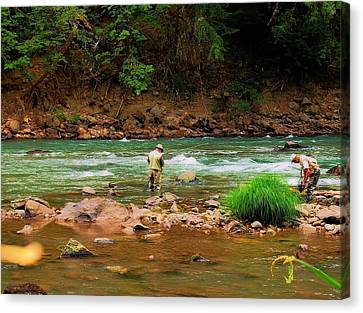 Fine Day For Fishin Canvas Print