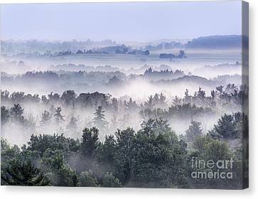 Finger Lakes Canvas Print - Finger Lakes Morning by Michele Steffey