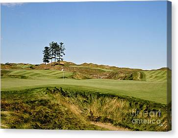 Finishing Hole Canvas Print