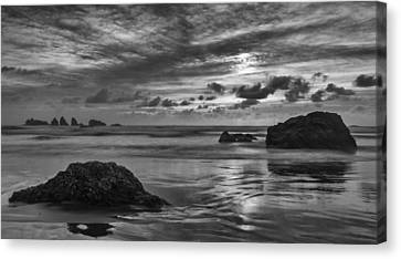 Finishing The Day II Canvas Print by Jon Glaser