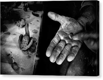 Finishing Touches Canvas Print by Ilker Goksen