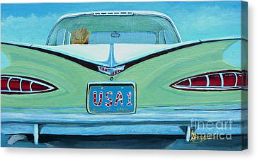 Fins Canvas Print by Anthony Dunphy