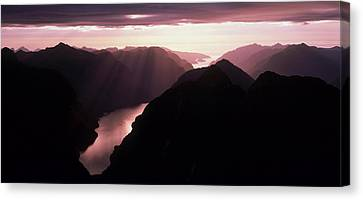 Fiordland National Park New Zealand Canvas Print by Panoramic Images