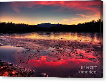 Fire And Ice At Price Canvas Print