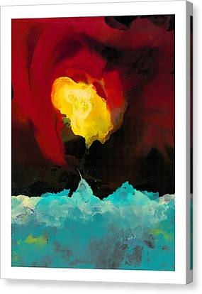 Fire And Ice Canvas Print by Craig Tinder