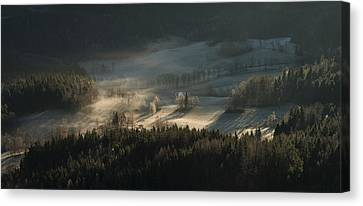 Fire And Ice II Canvas Print